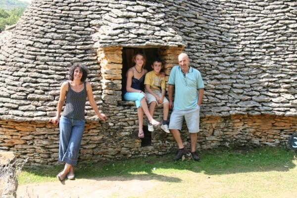 At Les Cabanes de Breuils, Dordogne