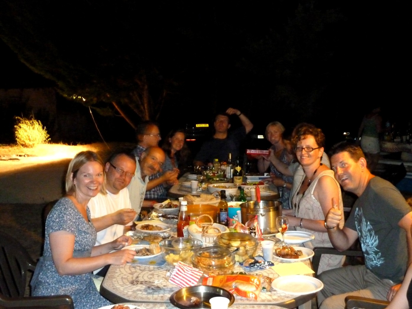 BBQ at our dordogne holiday cottages