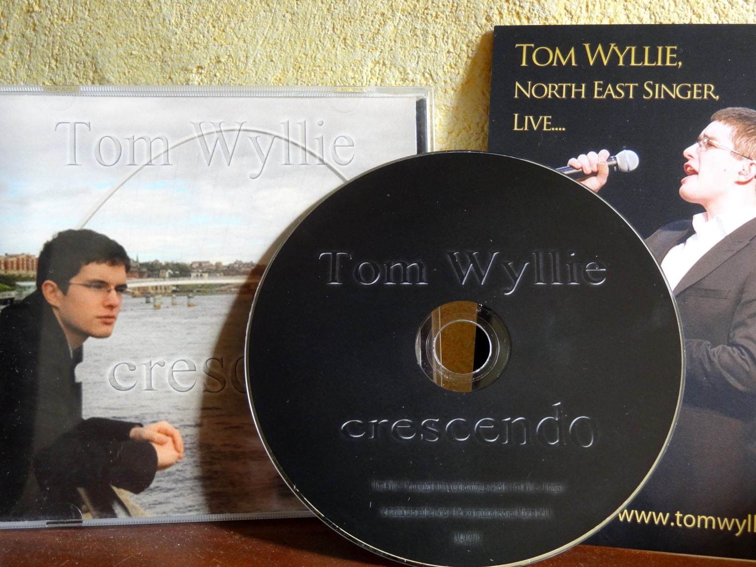 Tom Wyllie, singer of the nort east