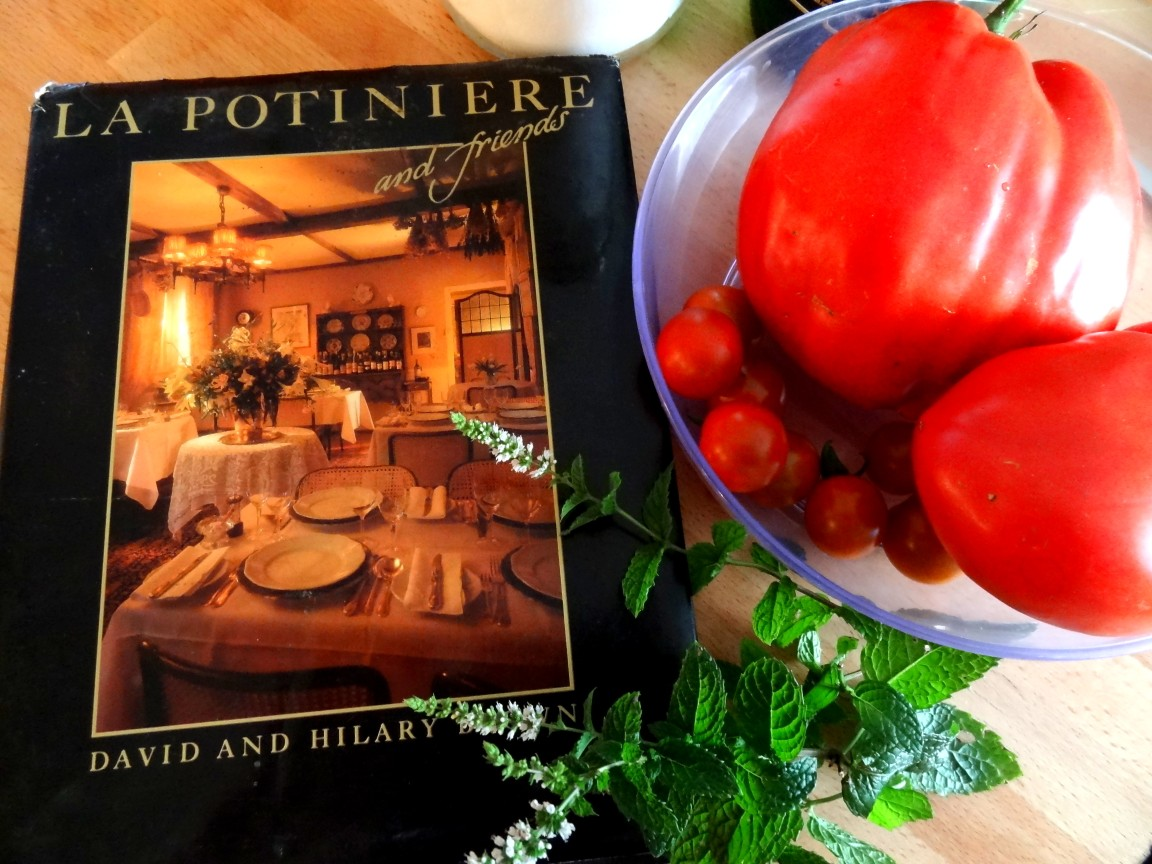 La potiniere cookbook from 1980s