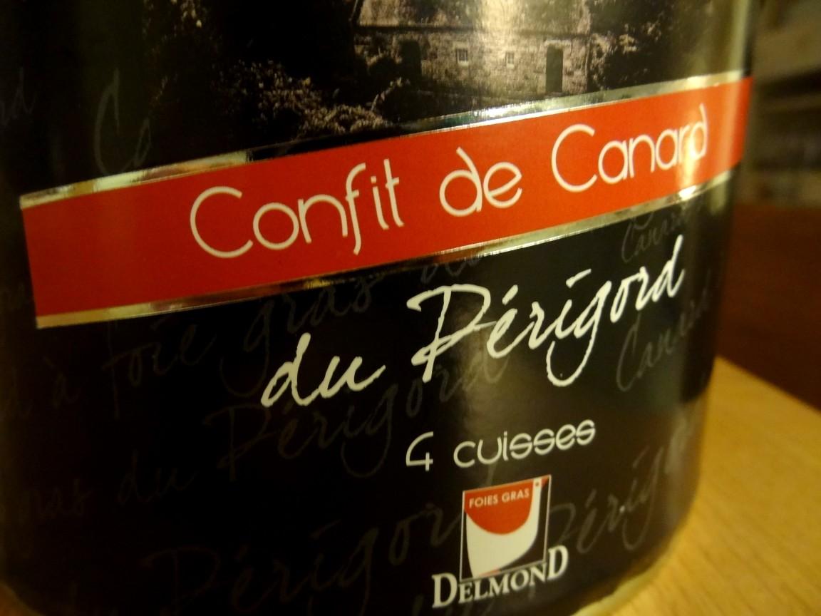 confit de canard from perigord noir