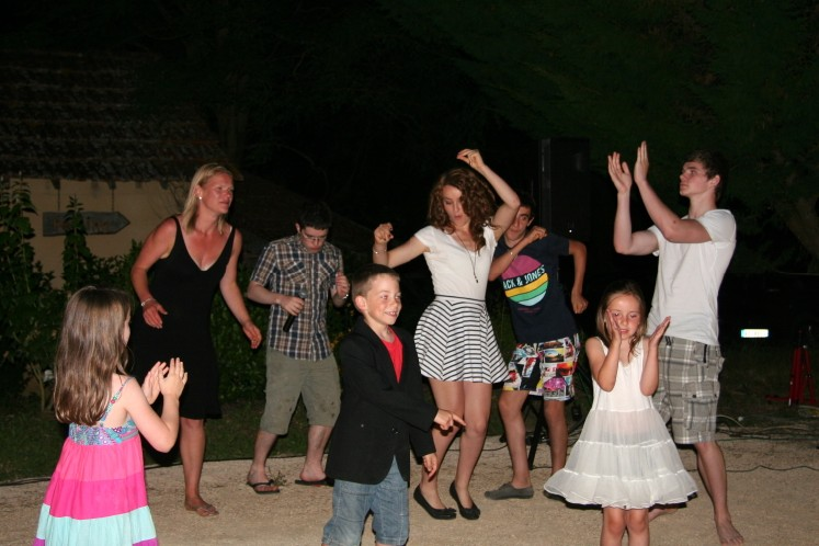 dancing at our dordogne gites