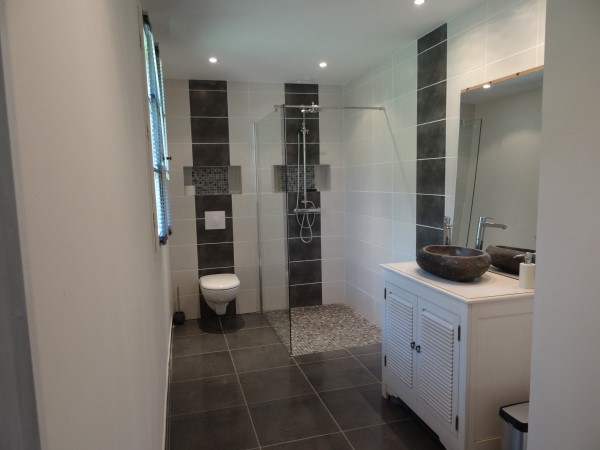 stylish bathrooms at our dordgne holiday villa